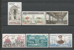MONACO ANNEE 1960 N°526 A 531 NEUFS** MNH - Mónaco