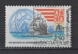 Andorre   1992  YT / 416    500 Anniversari Del Descobriment D'America - Andorre Espagnol