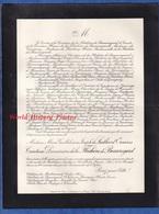 Document  Ancien De 1935 - NEUVILLE Les DAMES ( Ain ) - Marie Guillelmine Joseph De LUILLIER D'ORCIERES - Décès