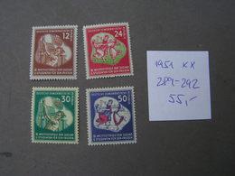 DDR 1951  289-292  ** MNH   € 55,00 - Ungebraucht