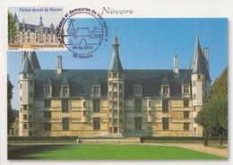 Carte  Maximum  1er  Jour   FRANCE   Le  Palais  Ducal   De   NEVERS   2012 - 2010-...
