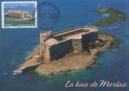 Carte  Maximum  1er  Jour   FRANCE   Le  Chateau  Du  TAUREAU   Baie  De  MORLAIX   2012 - 2010-...