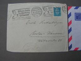 Brief Mit Ausstellung Stempel W.Bush 1932 - Deutschland
