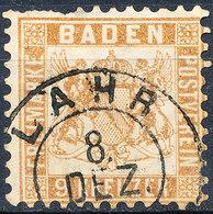 Stamp Baden 1862 9kr Used - Baden