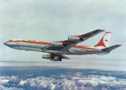 Air India Boeing 707 Jet Plane Sc#C67 6-cent Air Mail Stamp C1960s Vintage Postcard - 1946-....: Modern Era