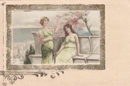 Artist Image Beautiful Women Ancient Rome Theme C1900s Vintage Postcard - Illustrators & Photographers