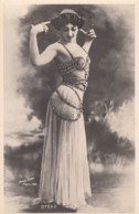 La Belle Otero Spanish Dancer Augustina Del Carmen Otero Iglesias C1900s/10s Vintage Postcard - Dance