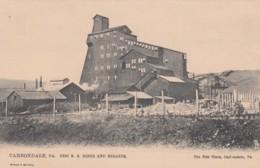 Carbondale Pennsylvania, Erie RR Mines And Breaker C1900s Vintage Tuck 'Carbondale PA' Series Postcard - United States