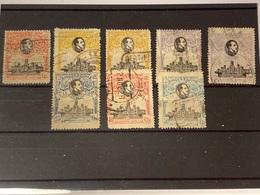 España Nº 300/3, 305/6. Año 1920 - 1889-1931 Königreich: Alphonse XIII.