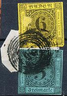 Stamp Baden 1853 3/6kr Used - Baden