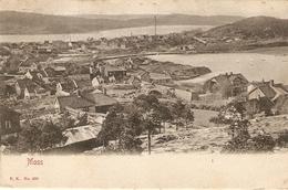 Noorwegen : Moss 1908 Panorama - Norvège