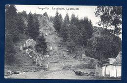 Longwilly ( Longvilly-Bastogne). Le Calvaire, Chemin De Croix. La Descente. - Bastogne