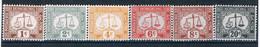 Hongkong Porto 1938  Mi P5-11 ** ; D4593 - Hong Kong (...-1997)