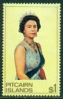 "-Pitcairn Islands-1975 ""Queen Elisabeth"" - M.N.H.(**) - Pitcairn Islands"