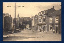 Barvaux ( Durbuy). Grand'Rue Avec L'Eglise Du Sacré Coeur, Coiffeurs, Trine Tacheny, Magasin De Chaussures, Pâtisserie - Durbuy