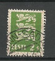 ESTLAND ESTONIA 1933 O TALLINN-SADAM On Michel 75 - Estland