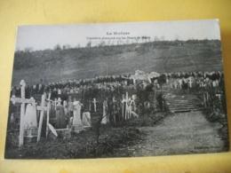 55 2687 CPA - 55 LA WOEVRE. CIMETIERE ALLEMAND SUR LES HAUTS DE MEUSE - Cimiteri Militari