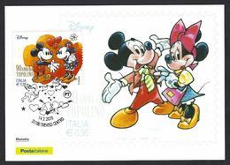 Italia 2020; San Valentino Per Topolino: Maximum Card. - Cartoline Maximum
