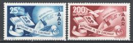 Sarre 1950 Unif.277+A **/MNH VF/F - 1947-56 Occupazione Alleata