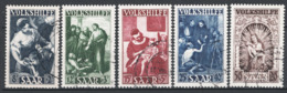 Sarre 1949 Unif.263/67 O/used VF/F - 1920-35 Società Delle Nazioni