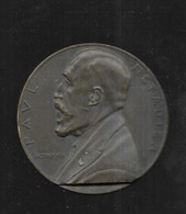 Msam Medaille Bronze PAUL METADIER CEUX QUI PARTAGENT SA VIE MCMXXXIII - Otros