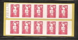 France, 2874-C8, Daté, Carnet Neuf, Non Plié, TTB, Sagem, Essayez L'enveloppe Pré-timbrée, Carnet Marianne De Briat - Carnets