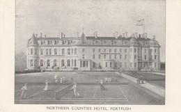 PORTRUSH , Northern Ireland , 00-10s Tennis Courts At Northern Counties Hotel - Antrim / Belfast