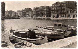 34200 SÈTE - Canal, Quai De La Résistance - CPSM 9 X 14 Cm Véritable Photo - Sete (Cette)
