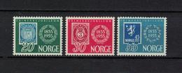 NORWEGEN , Norway , 1955 , ** , MNH , Postfrisch , Mi.Nr. 390 - 392 - Norwegen