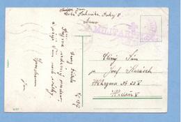 0235 Czechoslovakia Brno Military Post 1917 Militarpflege - Tchécoslovaquie