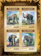 Mozambique 2014 Fauna Elephants - Mozambique