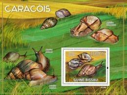 Guinea Bissau 2009 Snails Of Africa Fauna - Guinea-Bissau