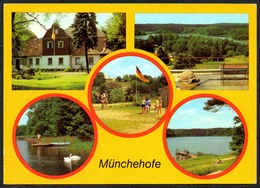 C8424 - Münchehofe Jugendherberge Erich Weinert Campingplatz - Bild Und Heimat Reichenbach - Muenchehofe