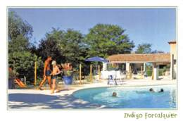 FORCALQUIER  Camping INDIGO  1 (scan Recto Verso) MD2501BIS - Forcalquier