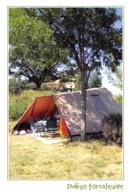FORCALQUIER  Une Tente Du Camping  9  (scan Recto Verso) MD2501BIS - Forcalquier