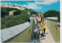 Grote Kaart Bredene Ingang Van Tunnel - Bredene