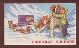 BUVARD -- SUCHARD . CHOCOLAT. MILKA CHOCOLAT AU LAIT - 2 Scannes. - Chocolat