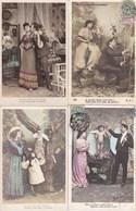 LOT/111.....50 CPA FANTAISIES DIVERSES - Postcards