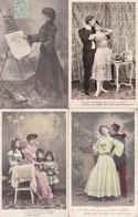 LOT/113.....50 CPA FANTAISIES DIVERSES - Postcards