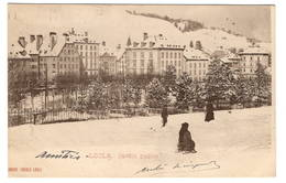 SUISSE - LE LOCLE Jardin Public, Pionnière (voir Descriptif) - NE Neuchâtel