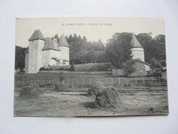 CPA 87 HAUTE VIENNE - EYMOUTIERS : Château De Farsac - Frankrijk