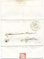 REPUBBLICA ROMANA - DA TOMBA A SENIGALLIA - 22.2.1849. - 1. ...-1850 Prephilately