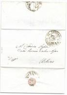 REPUBBLICA ROMANA - DA PENNABILLI AD URBINO - 17.3.1849. - ...-1850 Voorfilatelie