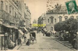 29 Morlaix, Place Thiers Et Rue D'Aiguillon, Animation De Marché... - Morlaix