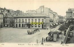 29 Morlaix, Place De Viarmes Et Rue D'Aiguillon - Morlaix