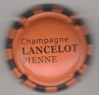 Capsule Champagne Lancelot-Pienne Orange Et Noir - Sonstige