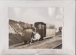 The World's Smallest Railway Flood Peril Gange Railway Eskdale Valley Cumberland   22*16CM Fonds Victor FORBIN 1864-1947 - Trenes