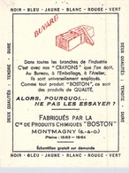 Ancien Buvard Collection ECRITURE CRAYON BOSTON MONTMAGNY SEINE ET OISE - Carte Assorbenti