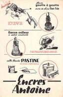 Ancien Buvard Collection ECRITURE ENCRE TIEN ESIN ENCRE DE CHINE ANTOINE - Buvards, Protège-cahiers Illustrés
