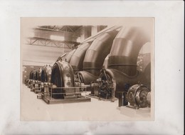 HIRTEN BAVARIA GERMANY POWER PLANT AT TACHERTIN RIVER ALZ  22*16CM Fonds Victor FORBIN 1864-1947 - Profesiones